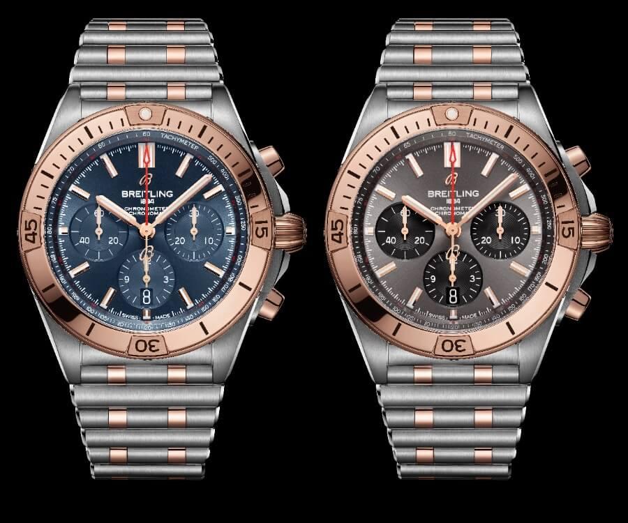 Breitling Chronomat B01 42 Ref. UB0134101C1U1 and UB0134101B1U1