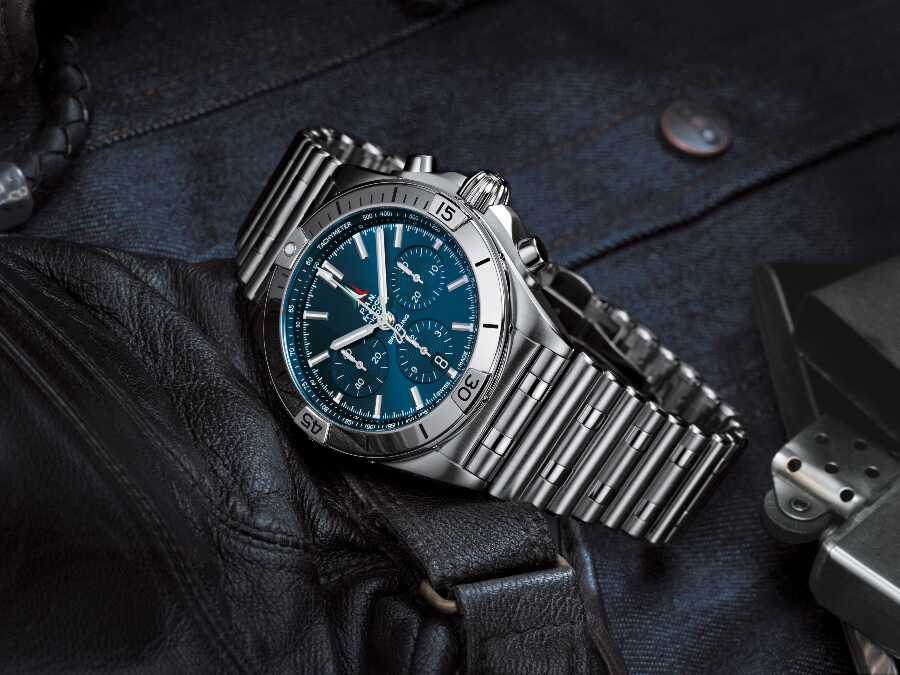 The New Breitling Chronomat B01 42 Frecce Tricolori Limited Edition