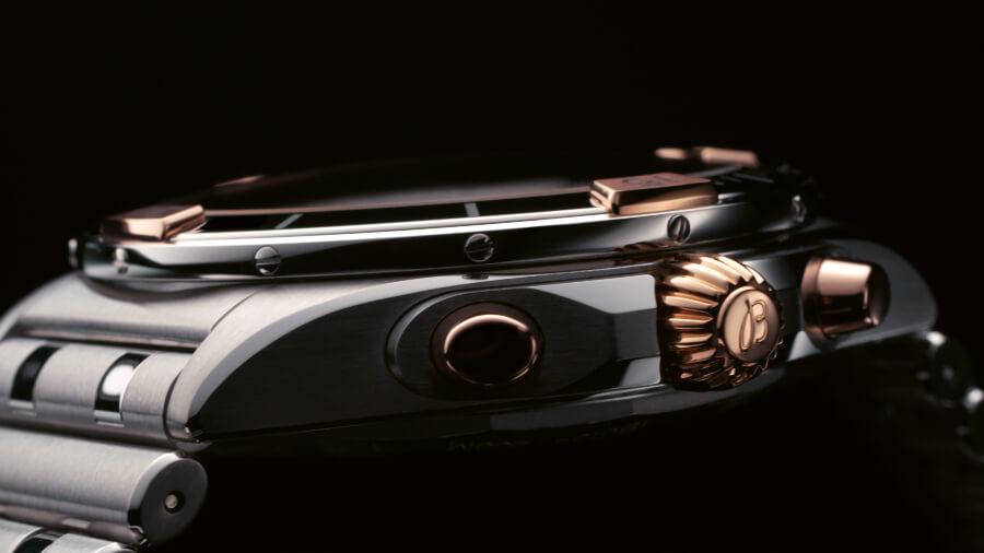 Breitling Chronomat B01 42 Gold Pushers