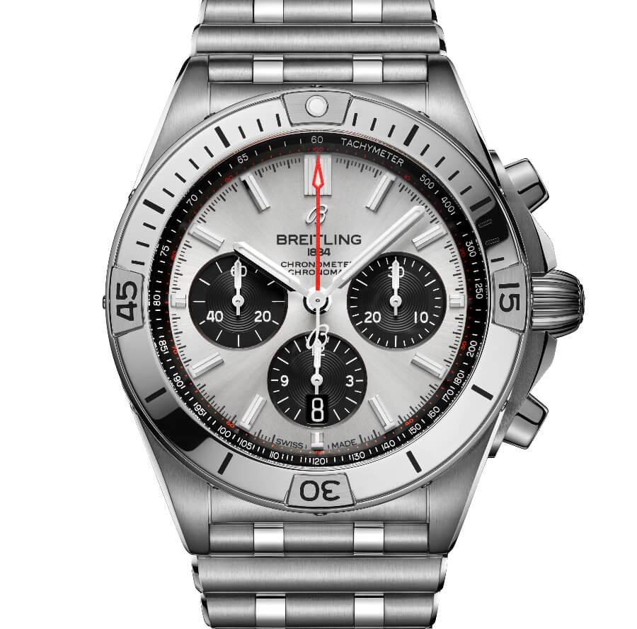 Breitling Chronomat B01 42 Panda Dial Chronograph
