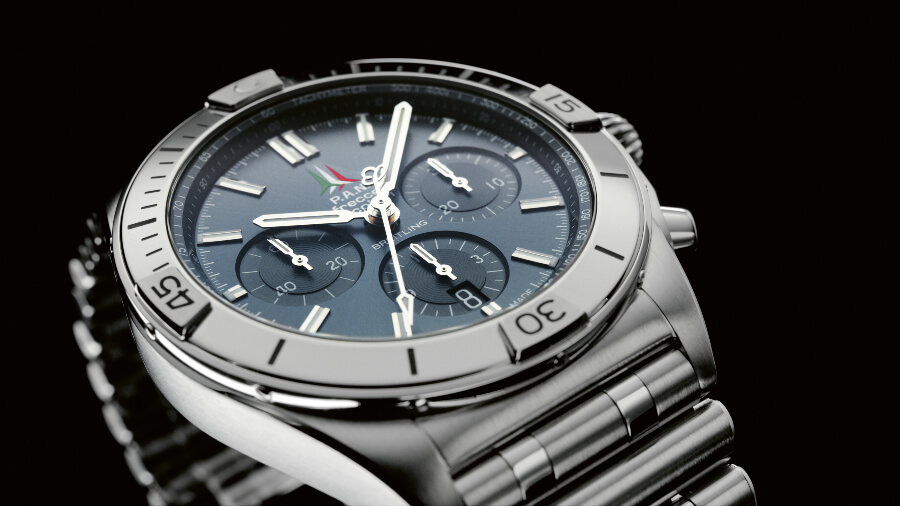 Breitling Chronomat B01 42 Frecce Tricolori Limited Edition Watch Review