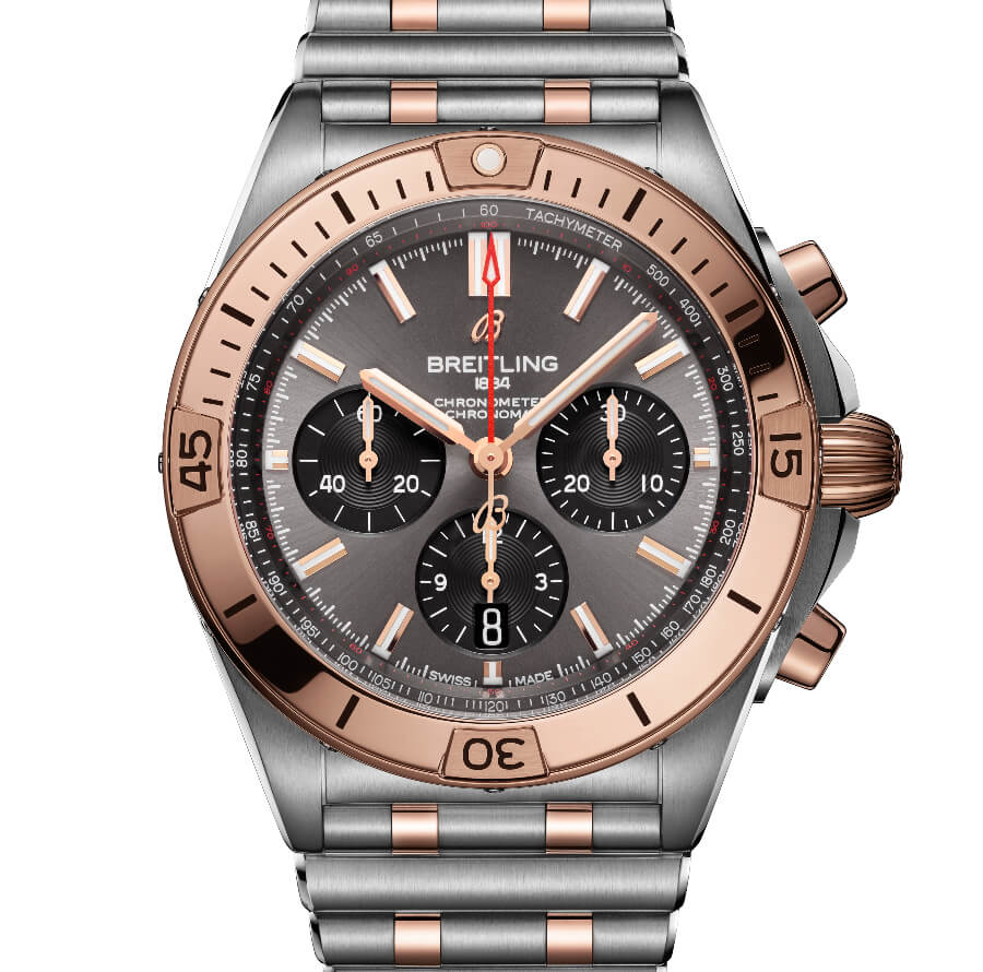 Breitling Chronomat B01 42 Two-Tone