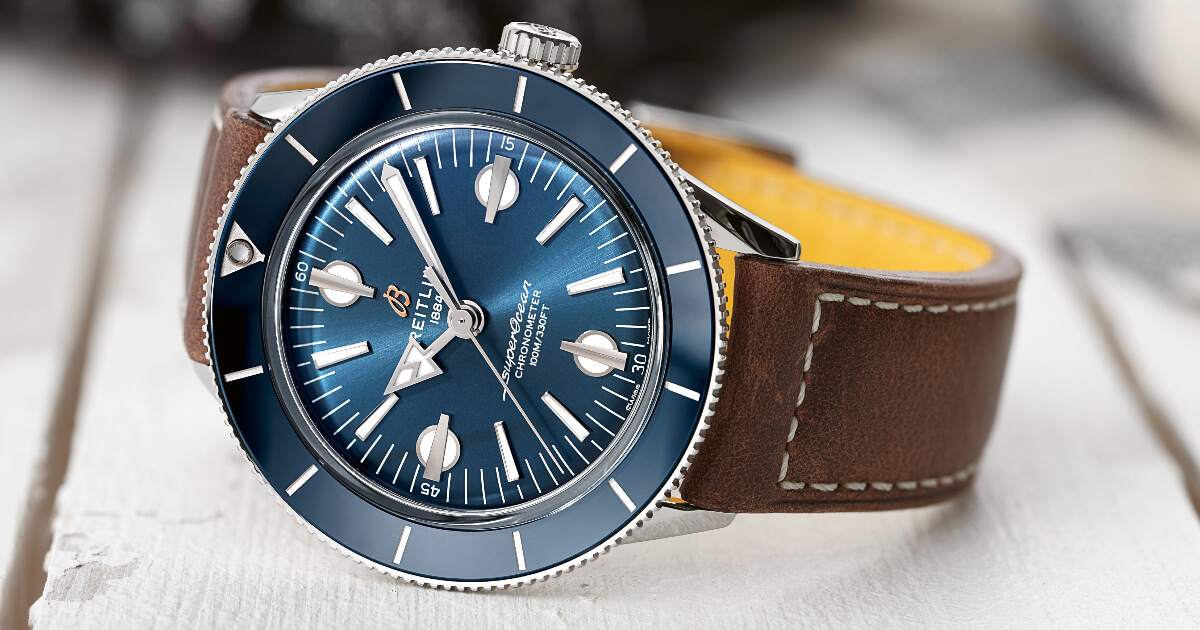 The Breitling Superocean Heritage '57 Capsule Collection (Price, Pictures and Specifications)