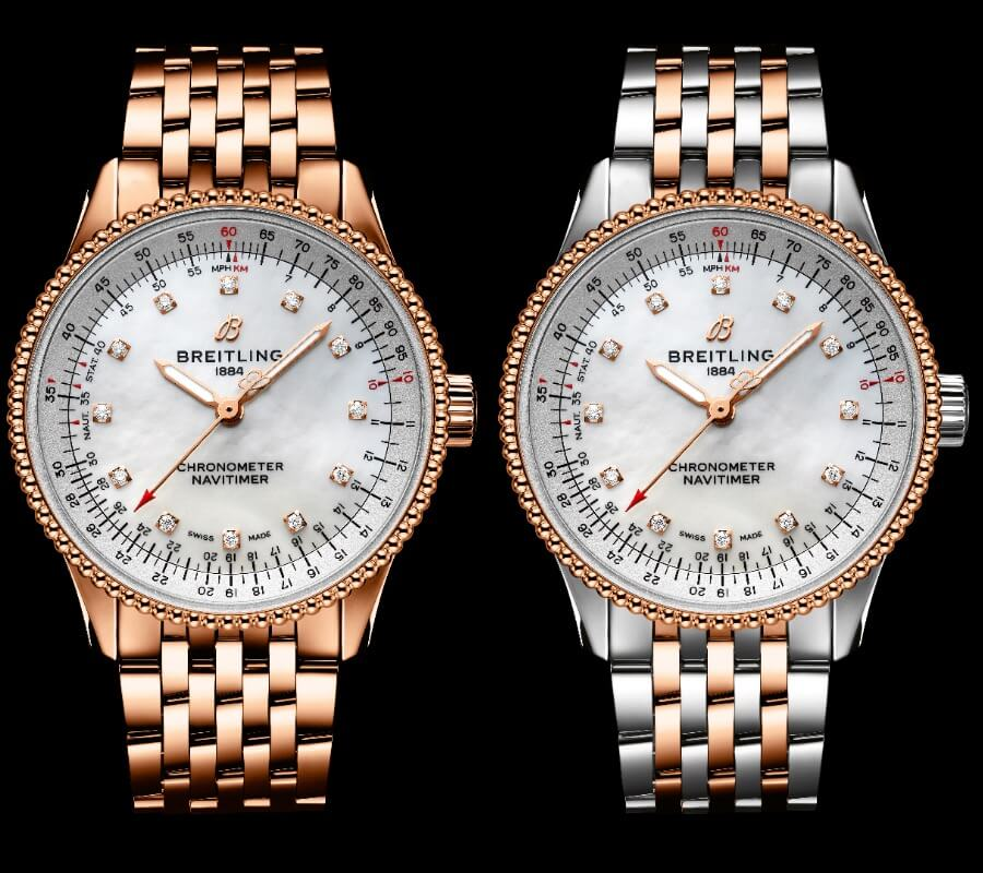 Breitling Gold Watch for Ladies