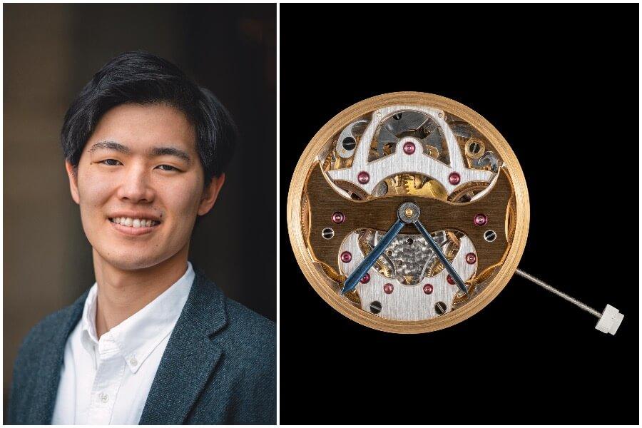 Nayuta Shinohara and his movement with two retrograde indications