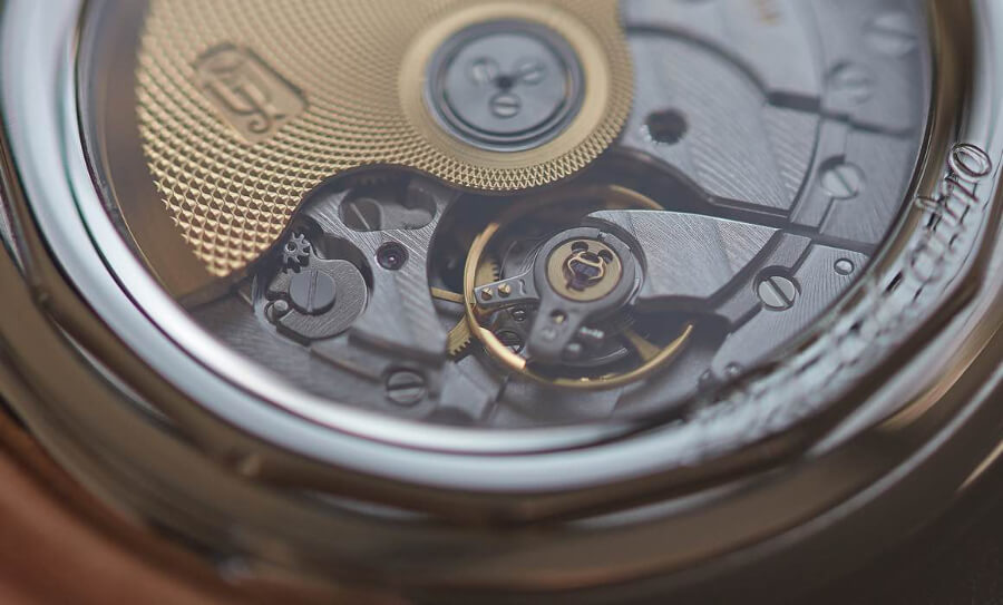 F. Piguet 1160 movement of Urban Jürgensen Big 8 London Edition