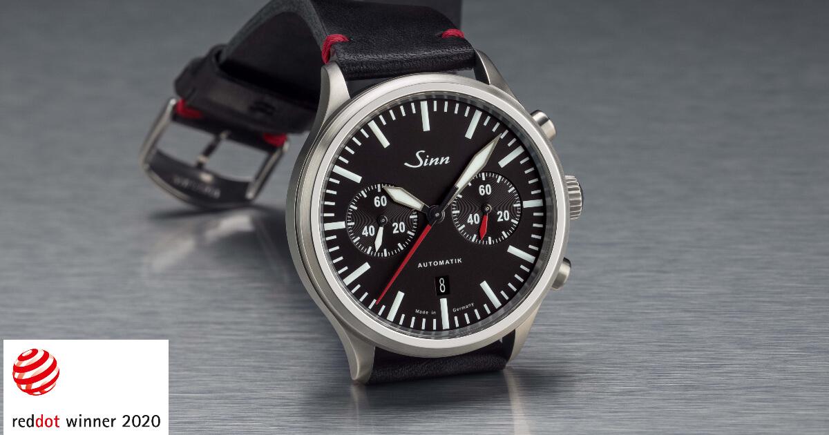 Sinn Spezialuhren model 936 receives the Red Dot Award - Product Design 2020