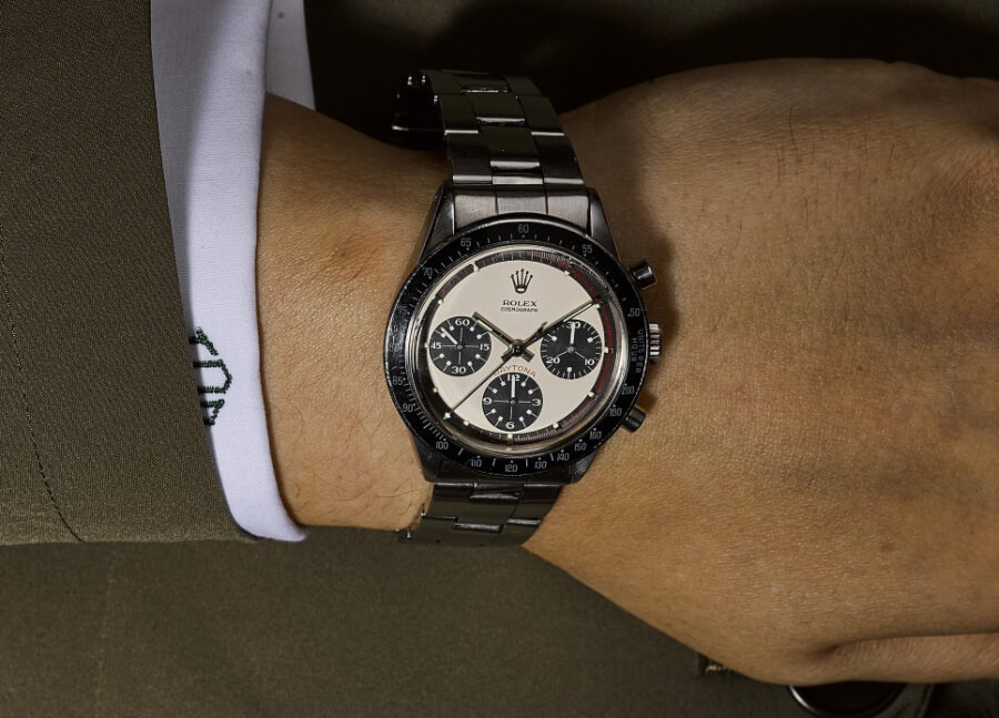 Rolex Paul Newman Daytona, reference 6241 in stainless steel, circa 1968  Watch Review