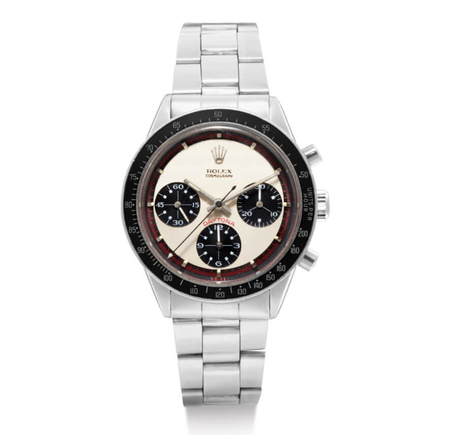 Rolex Paul Newman Daytona, reference 6241 in stainless steel from 1968 For sale