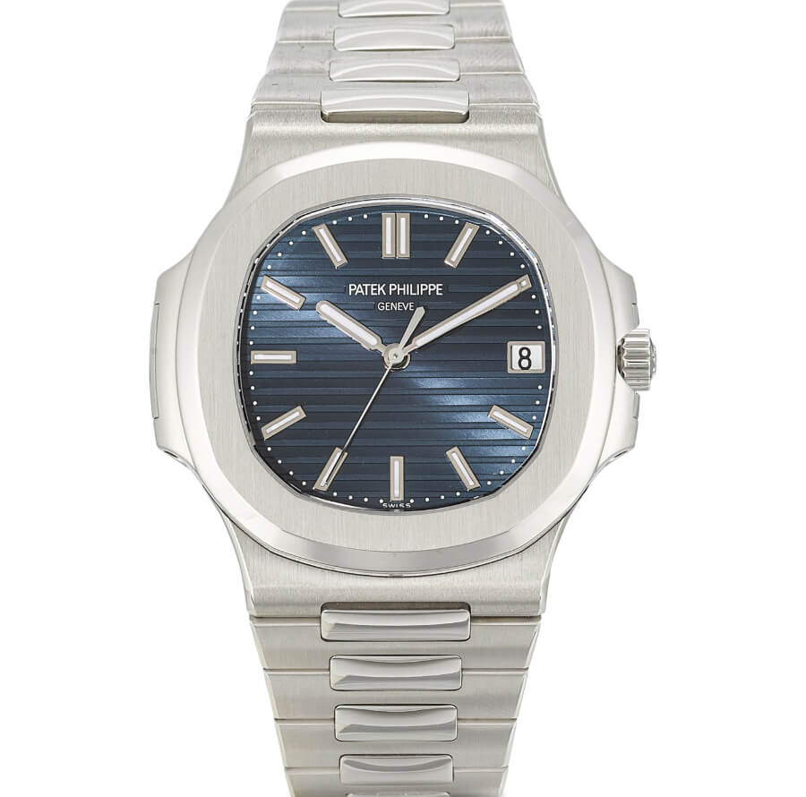 Patek Philippe Nautilus, ref. 5711 in platinum with blue jeans dial from 2014 watch review