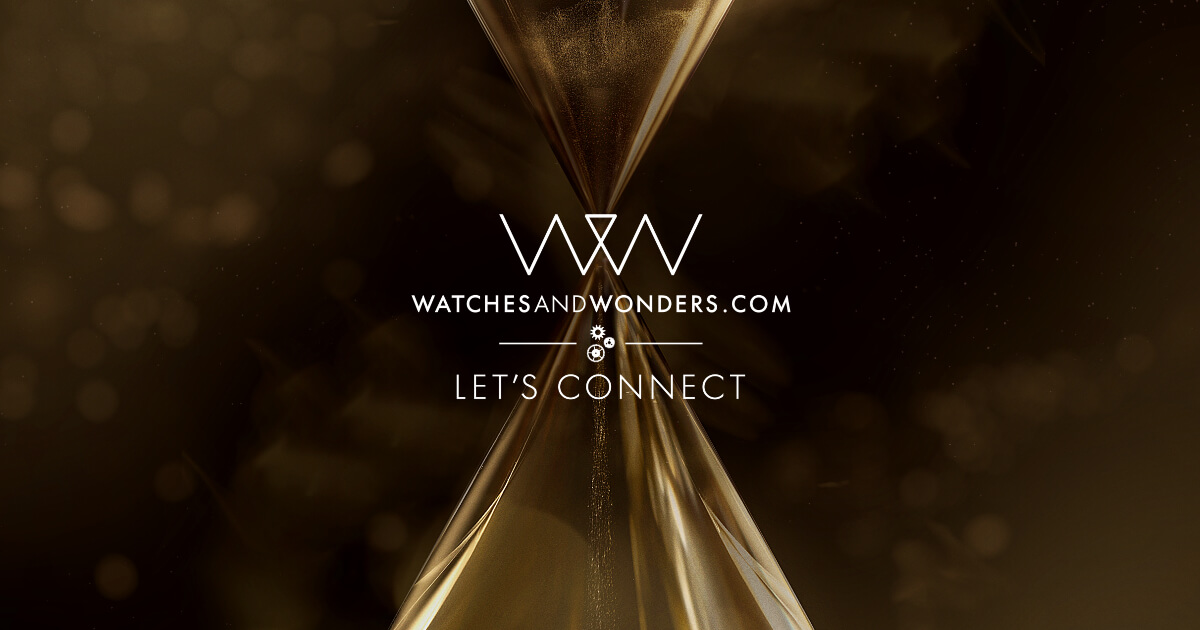 Watches & Wonders 2020 Will Take Place Online Beginning April 25th