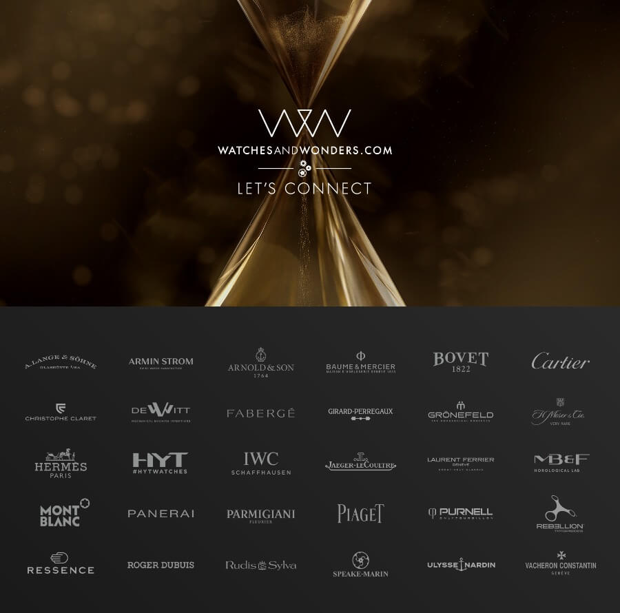 Watches & Wonders 2020 Watch Brands