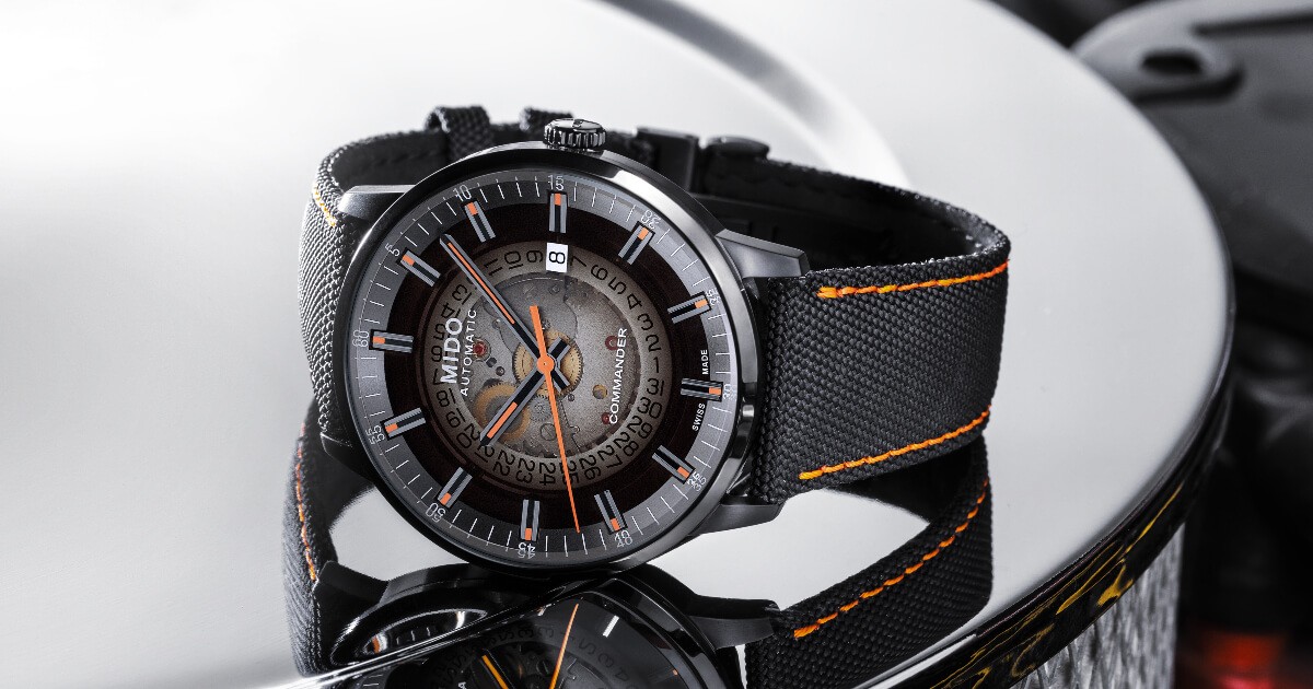 Mido Commander Gradient (Price, Pictures and Specifications)