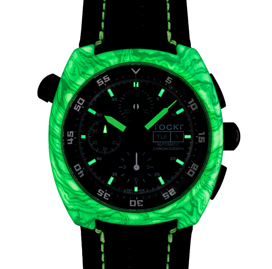 Tockr Air-Defender Lume Watch