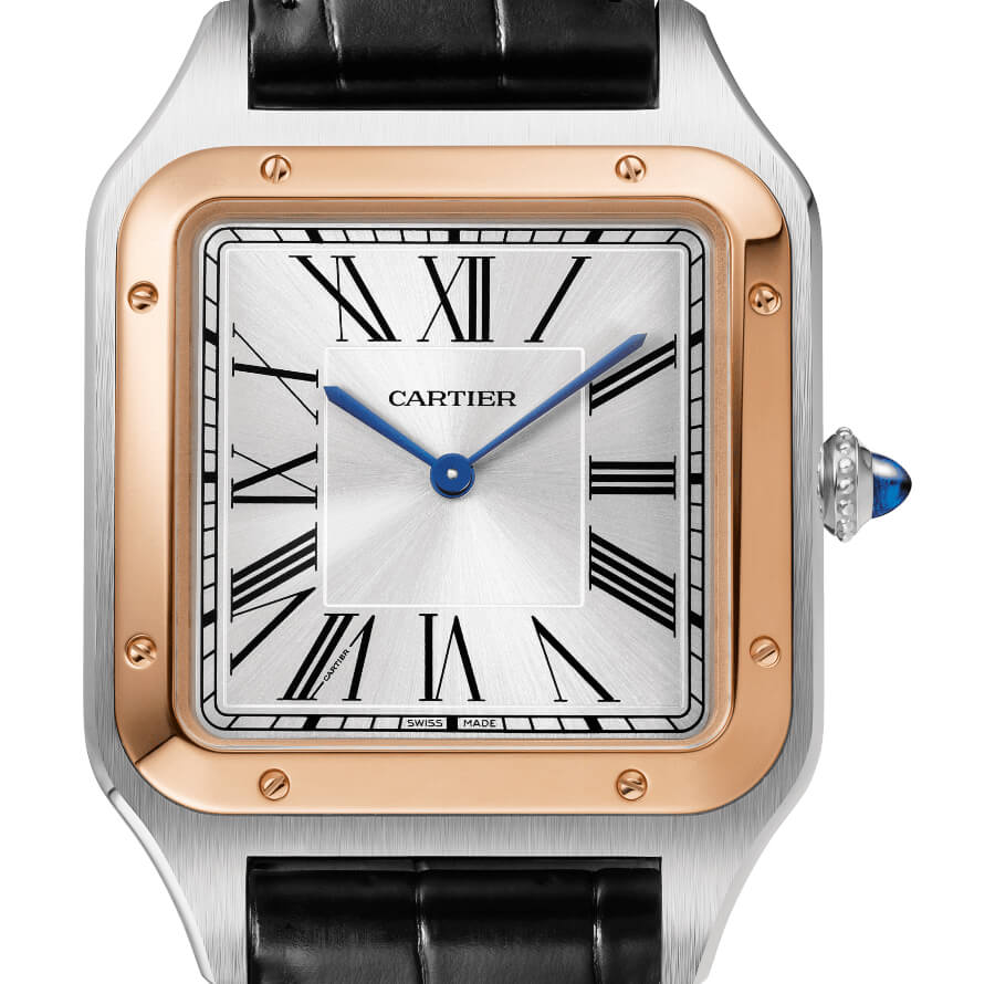 The New Cartier Santos-Dumont XL Watch Two Tone