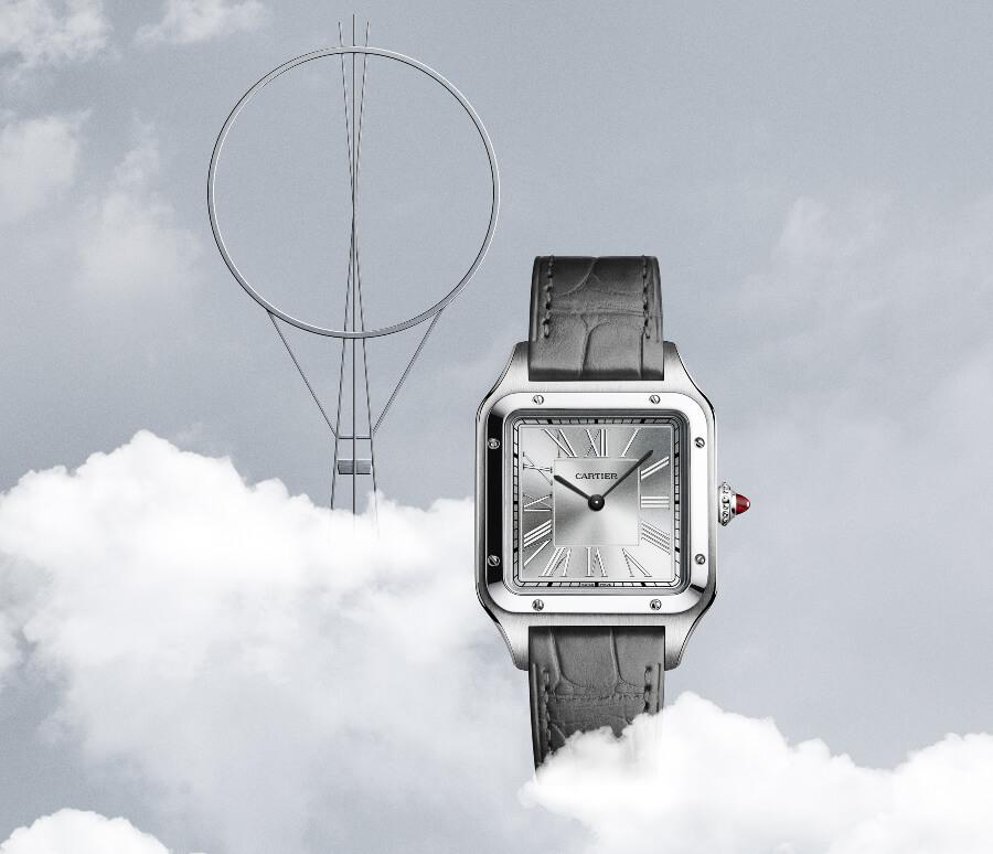 """The Cartier """"Le Brésil"""" Santos-Dumont watch"""