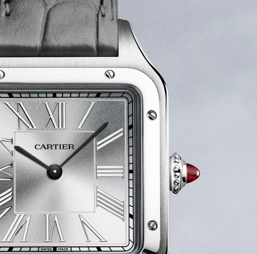 """The Cartier """"Le Brésil"""" Santos-Dumont watch Dial"""