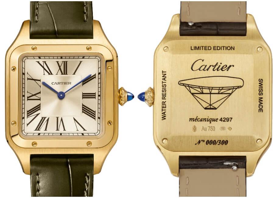 "The Cartier ""La Baladeuse"" Santos-Dumont watch"