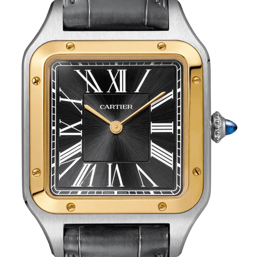 "The Cartier ""n°14 bis"" Santos-Dumont watch"
