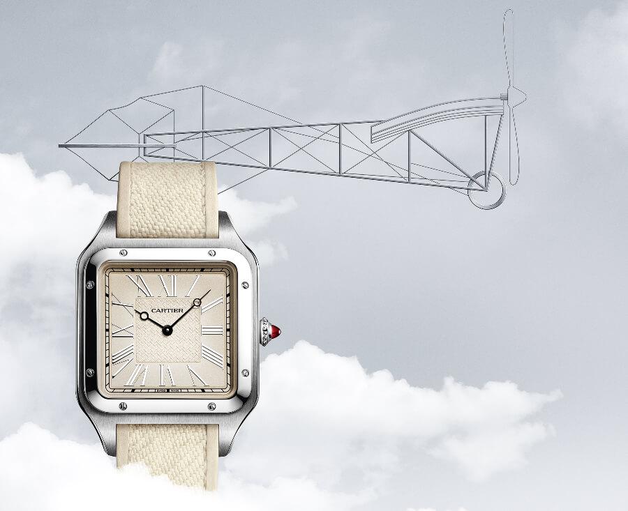 """The New Cartier Santos-Dumont """"La Demoiselle"""" watch"""