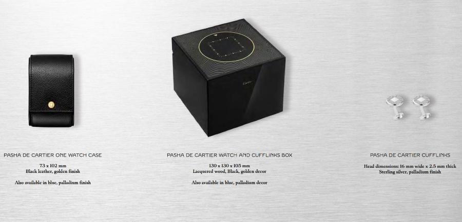 The New Cartier Pasha de Cartier Full Box