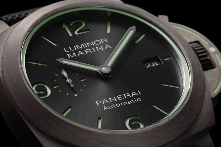 Panerai Luminor Marina Fibratech – 44 MM Ref. PAM01119 Dial