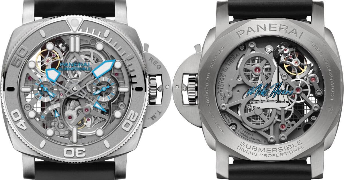 Panerai Submersible Ecopangaea Tourbillon GMT 50 mm Mike Horn Edition (Price, Pictures and Specifications)
