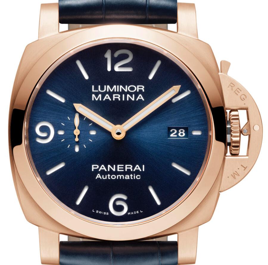 The New Luminor Marina Panerai Goldtech – 44 mm