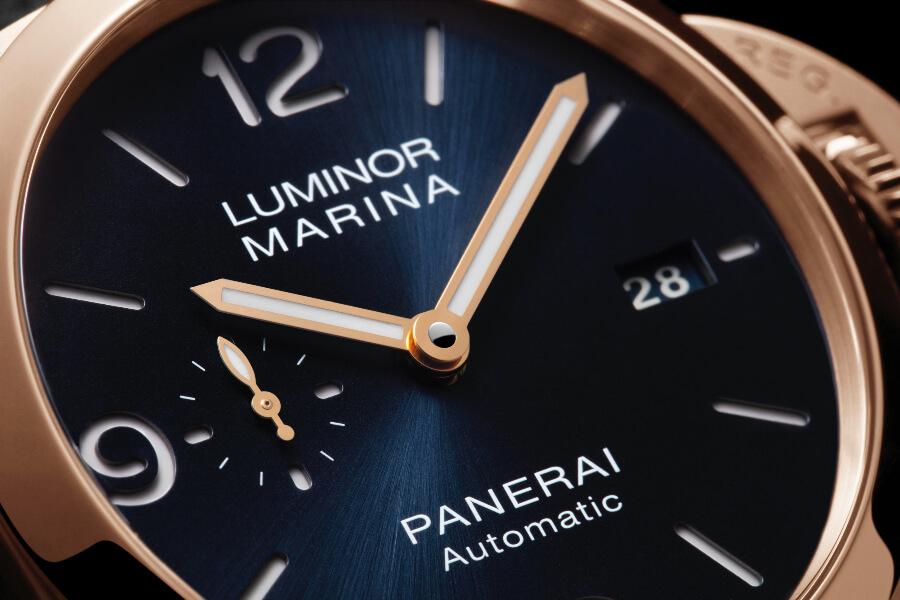 The New Luminor Marina Panerai Goldtech – 44 mm Blue Dial