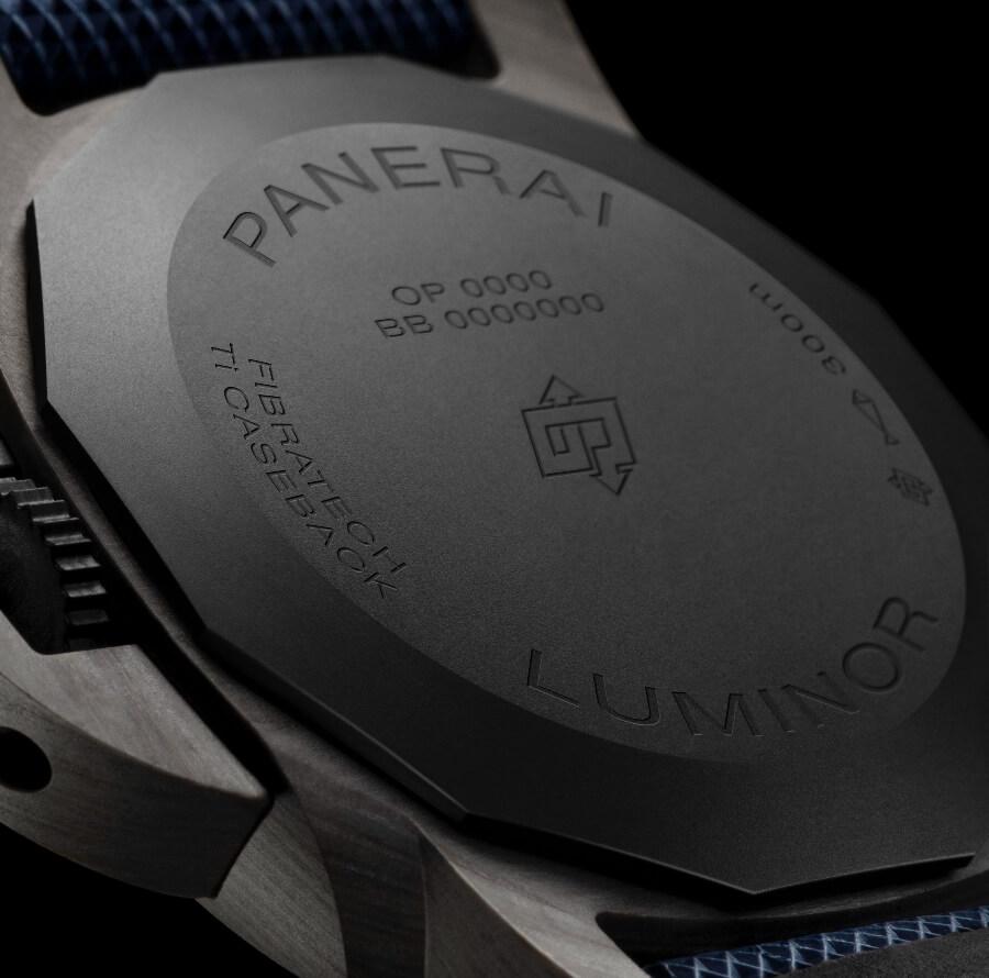 Panerai Luminor Marina Fibratech – 44 mm PAM01663 CaseBack