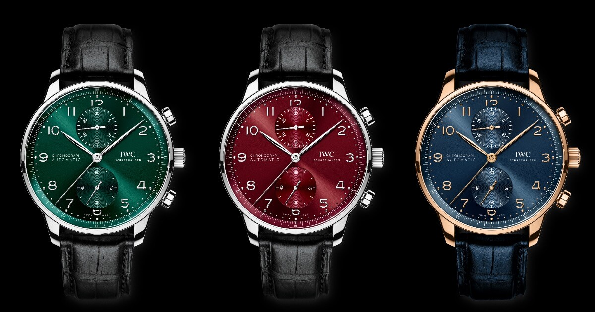 IWC Unveils New Versions Of The Portugieser Chronograph (Price, pictures and Specifications)