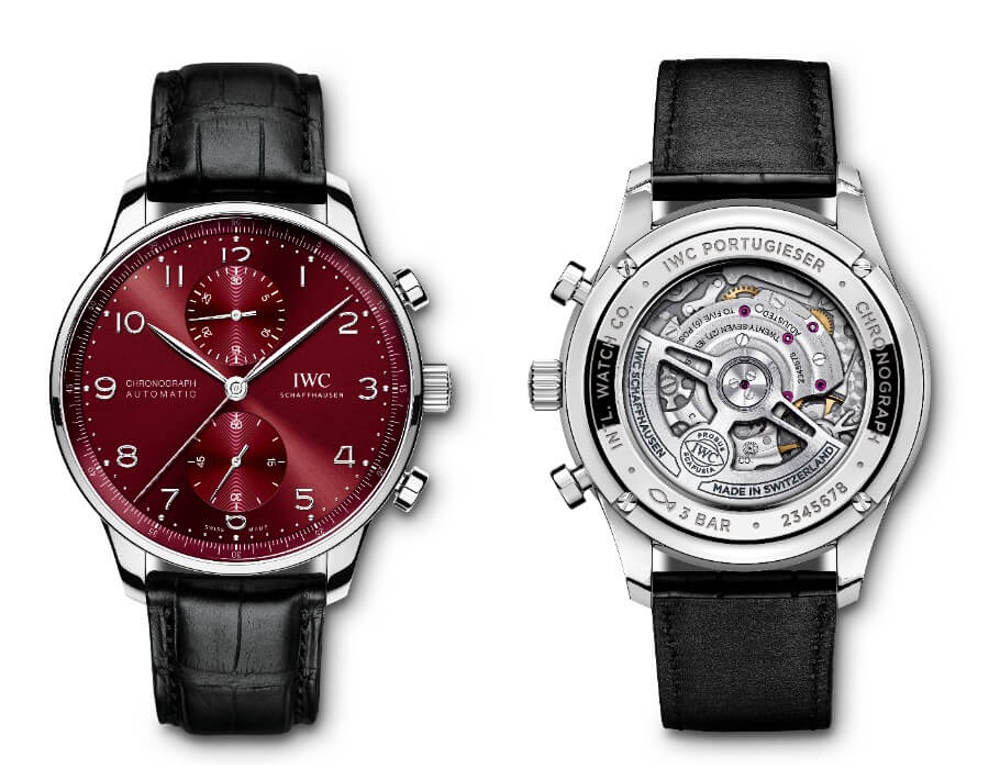 The new IWC Portugieser Chronograph Ref. IW371616