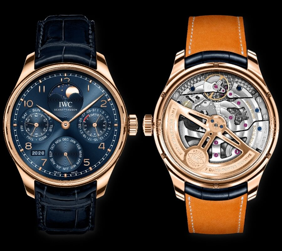 The New IWC Portugieser Perpetual Calendar Ref. IW503312 Boutique Edition