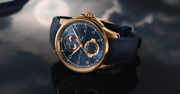 The New IWC Portugieser Yacht Club Moon & Tide and Portugieser Yacht Club Chronograph (Price, Pictures and Specifications)
