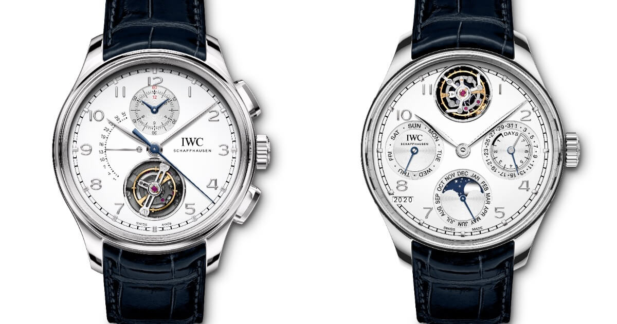 IWC Portugieser Tourbillon Rétrograde Chronograph and Portugieser Perpetual Calendar Tourbillon (Price, Pictures and Specifications)