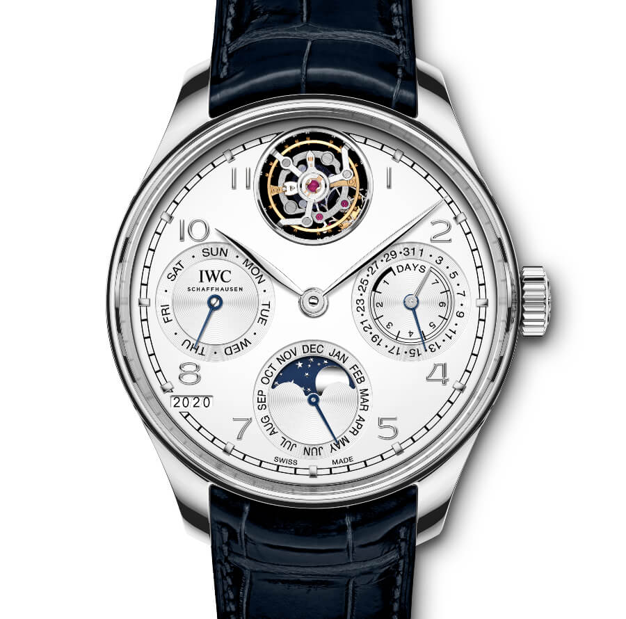 IWC Portugieser Perpetual Calendar Tourbillon Ref. IW504505 Watch Review