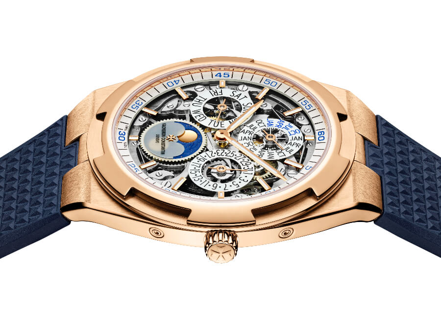 The New Vacheron Constantin Overseas Perpetual Calendar Ultra-Thin Skeleton ref. 4300V/120R-B547