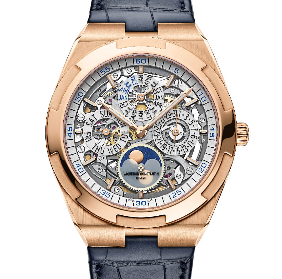 The New Vacheron Constantin Overseas Perpetual Calendar Ultra-Thin Skeleton