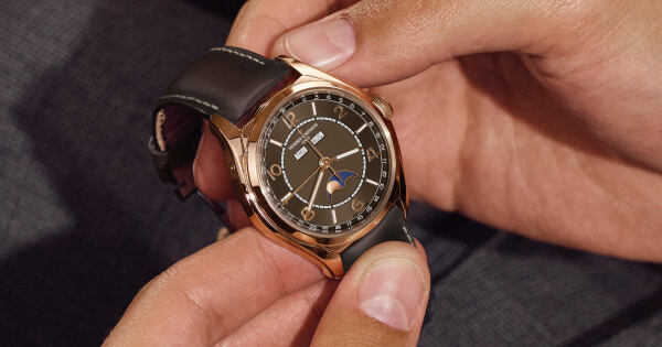 Vacheron Constantin Fiftysix Sepia Brown-Toned Dial And Matching Calfskin Strap (Price, Pictures and Specifications)