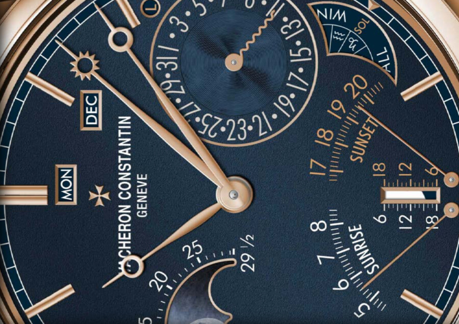 Vacheron Constantin Les Cabinotiers Astronomical Striking Grand Complication – Ode To Music Dial