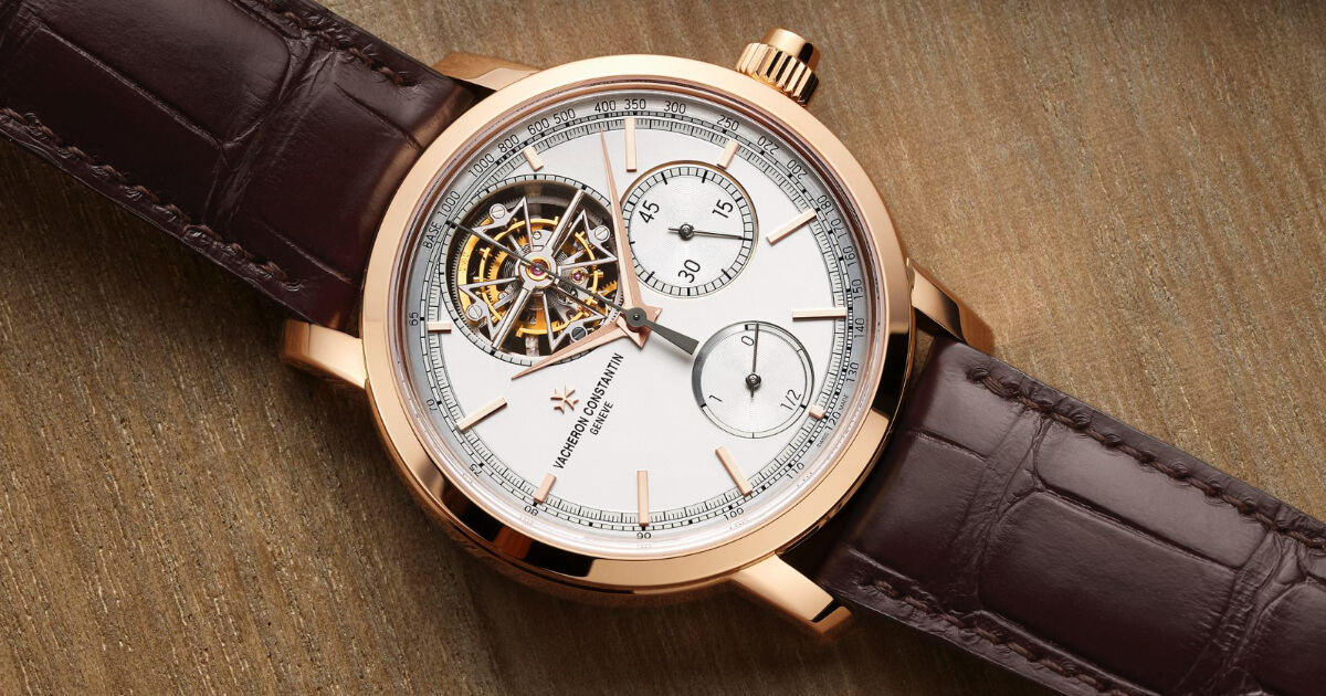 Vacheron Constantin Traditionnelle Tourbillon Chronograph (Price, Pictures and Specifications)