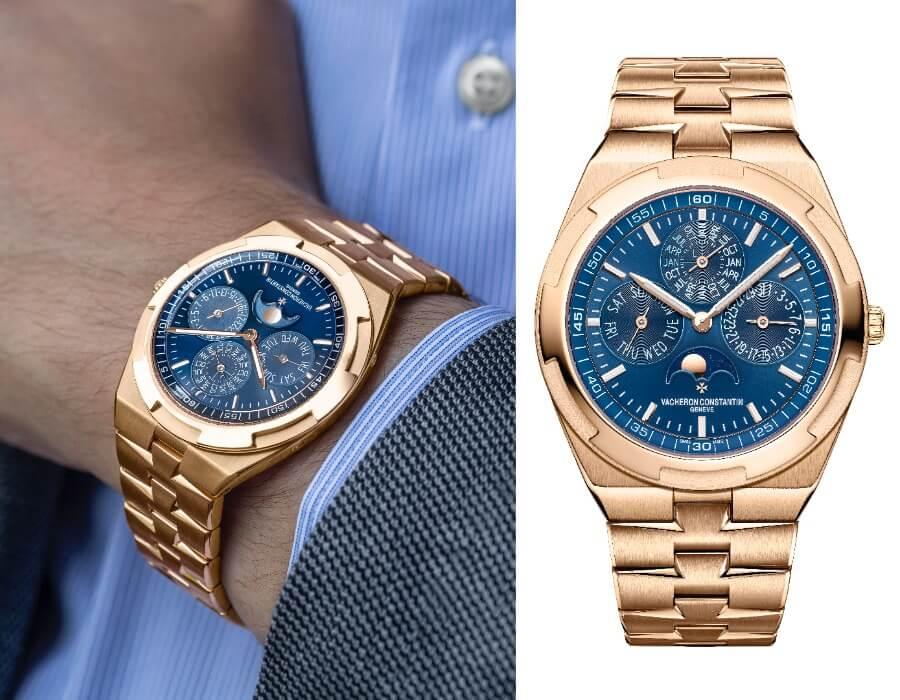 Vacheron Constantin Overseas Perpetual Calendar Ultra-Thin Blue Dial Gold