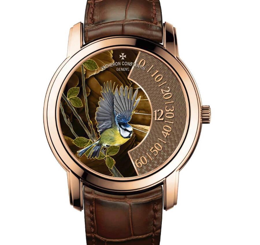 Vacheron Constantin Les Cabinotiers – The Singing Birds – Blue Tit