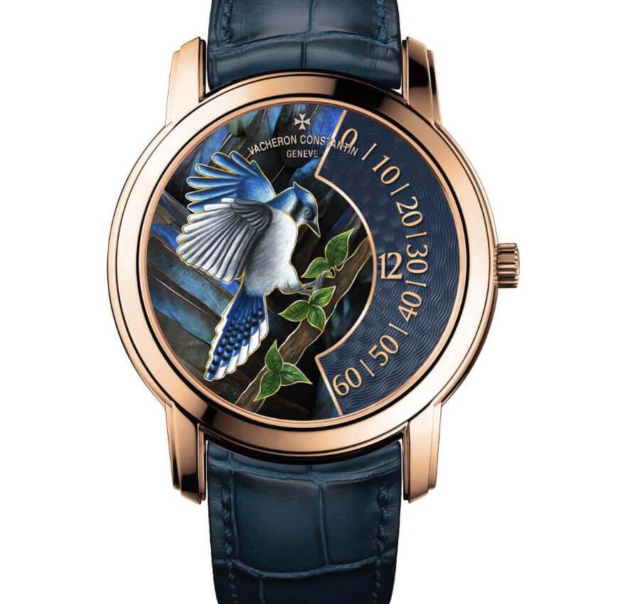 Vacheron Constantin Les Cabinotiers – The Singing Birds – Blue Jay