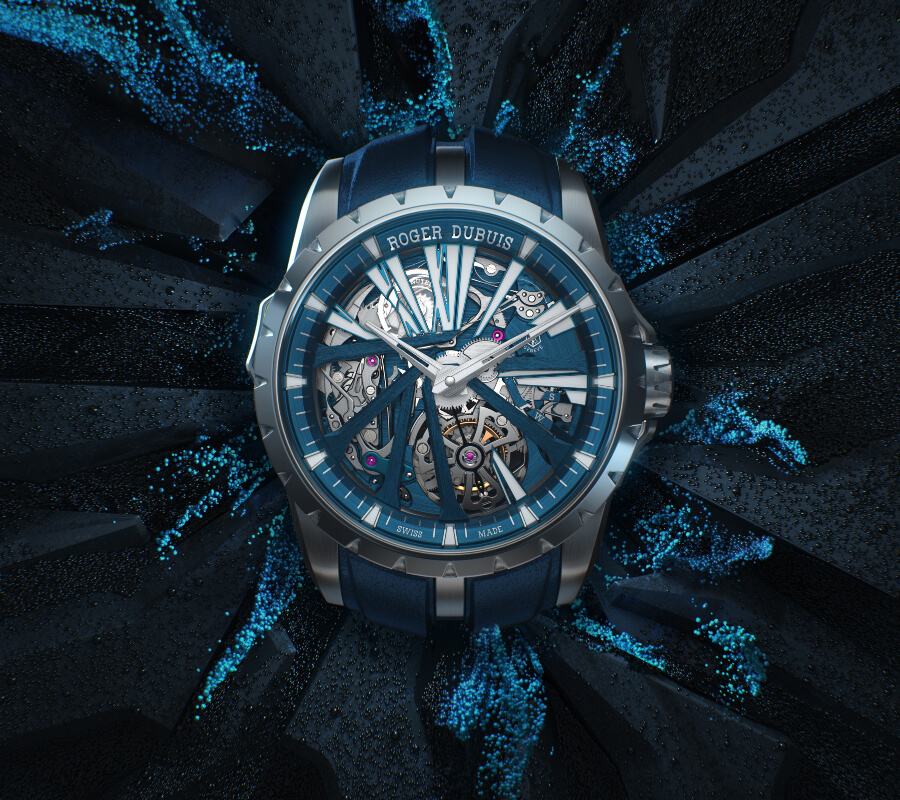 The new Roger Dubuis Excalibur Diabolus in Machina Watch