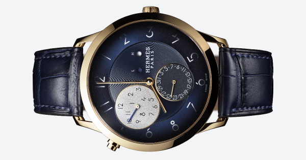 The New Hermes Slim d'Hermès GMT Rose Gold (Price, Pictures and Specifications)