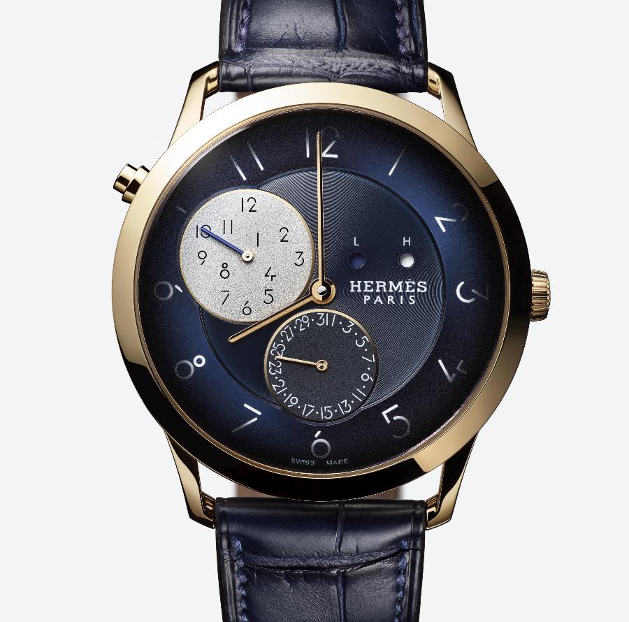 Hermes Slim d'Hermès GMT Rose Gold