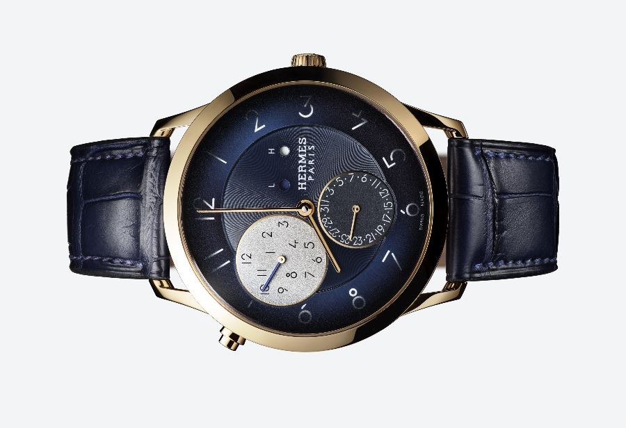 The New Hermes Slim d'Hermès GMT Rose Gold