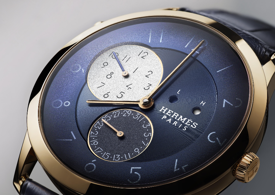 Hermes Slim d'Hermès GMT Rose Gold Watch review