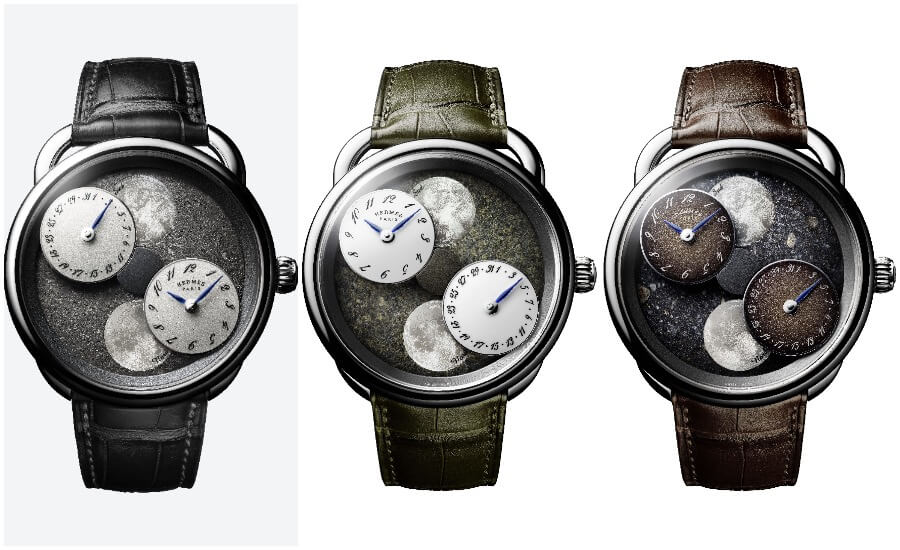 Hermes Arceau L'heure De La Lune Watch